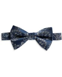 Ted Baker - Jacquard Paisley Bow Tie - Lyst