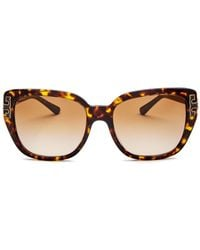 bf42f16680 Lyst - Tory Burch Eclectic Sunglasses - Tortoise Brown Gradient in Brown