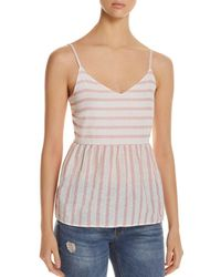 Vero Moda - Sunny Striped Sleeveless Top - Lyst