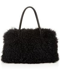 75cf26673d7d Lyst - MICHAEL Michael Kors 30f6gm9t3l 666 Leather fur exotic Skins ...