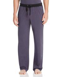Daniel Buchler Peruvian Pima Cotton Lounge Pants - Purple