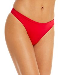 Vilebrequin Solid Bikini Bottom - Red