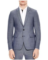 Sandro - Notch Pinpoint Slim Fit Suit Separate - Lyst