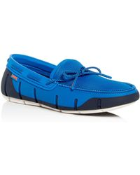 Swims - Men's Stride Moc Toe Loafers - Lyst