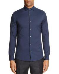 Michael Kors - Stretch Cotton Slim Fit Button - Down Shirt - Lyst