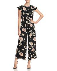 Lost + Wander - Floral-print Jumpsuit - Lyst