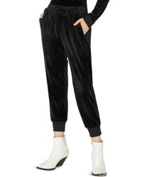 Sanctuary - Velour Track Jogger Pants - Lyst