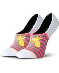 Stance Pretty Pineapple Liner Socks - White