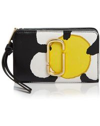 Marc Jacobs | The Grind Compact Leather Wallet | Lyst