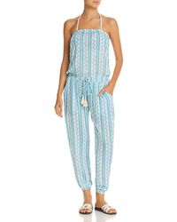 ccd0d1d9f5bc Cool Change - Brooke Tehani Stripe Jumpsuit Swim Cover-up - Lyst