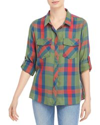Billy T Lightweight Classic Button Down Shirt - Multicolour