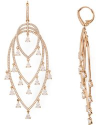 Nadri - Chandelier Earrings - Lyst