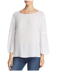 Side Stitch - Bell Sleeve Top - Lyst