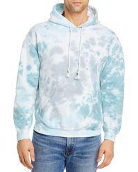Original Paperbacks Bayside Tie Dye Fleece Hoodie (64% Off) - Comparable Value $110 - Blue
