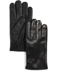 Bloomingdale's Cashmere Lined Basic Tech Gloves - Black