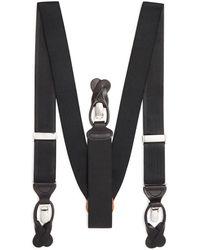 Trafalgar Men's Classic Convertible Stretch Brace - Black