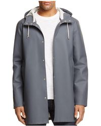 Stutterheim | Stockholm Hooded Rain Coat | Lyst