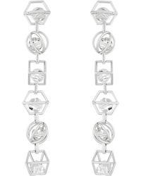 Atelier Swarovski - By Mary Katrantzou Nostalgia Duster Earrings - Lyst
