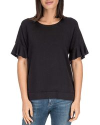 B Collection By Bobeau - Martha Bell Sleeve Top - Lyst