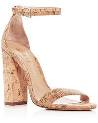 c75e410c2d81 Schutz - Women s Enida High Block-heel Sandals - Lyst