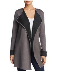 Avec - Draped Sweater Jacket - Lyst