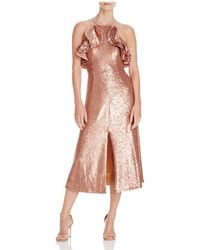 C/meo Collective Illuminated Sequin Dress - Pink