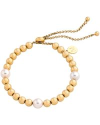Majorica - Majorca Simulated Pearl Beaded Bracelet - Lyst