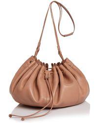 Elizabeth and James - Dex Medium Nappa Leather Shoulder Bucket Bag - Lyst