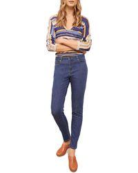 Gerard Darel Mona Cigarette Jeans In Blue