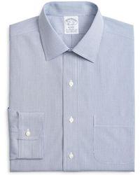 Brooks Brothers - Micro Windowpane Classic Fit Dress Shirt - Lyst