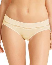 Fine Lines - Lace Inset Bikini - Lyst