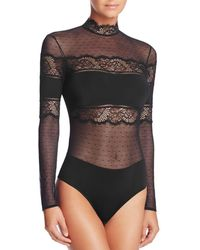 Thistle & Spire - Amore Long Sleeve Bodysuit - Lyst