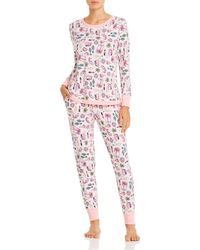 Jane & Bleecker New York Printed Pajama Set - Pink