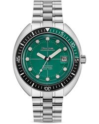 Bulova Oceanograper Green Dial Watch