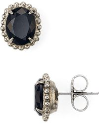 Sorrelli - Oval Post Earrings - Lyst