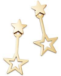 Moon & Meadow - Star Ear Jackets In 14k Yellow Gold - Lyst