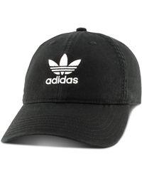 adidas Logo Baseball Cap - Black