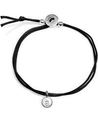 Alex Woo - Mini Initial Bracelet - Lyst