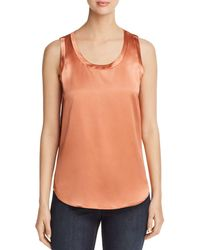 Lafayette 148 New York - Reversible Perla Silk Blouse - Lyst
