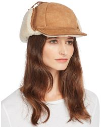 Crown Cap - Drake Shearling Trapper Hat - Lyst