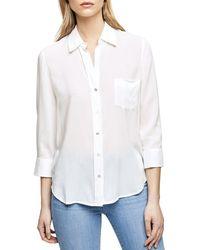 L'Agence Ryan Shirt - White