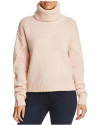 Tory Burch   Eva Detachable Turtleneck Sweater   Lyst