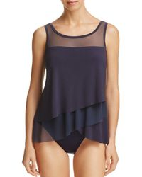 82460e6883 Miraclesuit - Mirage Tankini Top - Lyst