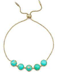Nadri - Cubic Zircona & Turquoise Birdie Bracelet - Lyst