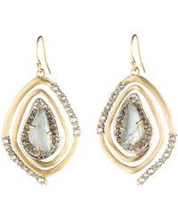 Alexis Bittar - Geo Spiral Drop Earrings - Lyst