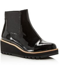 Eileen Fisher Women's Wedge Chelsea Boots - Black