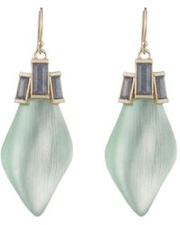 Alexis Bittar - Baguette Drop Earrings - Lyst