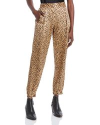 ATM Silk Printed Trousers - Multicolour