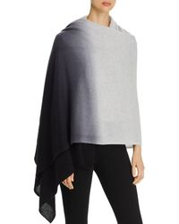 C By Bloomingdale's Printed Cashmere Travel Wrap - Multicolour