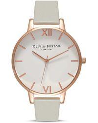 Olivia Burton Big Dial Watch - Multicolor